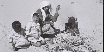 Семья репатриантов из Йемена. Фото: Золтан Клугер, Национальная фотоколлекция, GPO