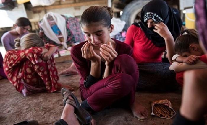 Освобождённые пленницы ИГИЛ. Фото kurdistan24.net
